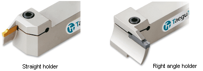 CNC grooving tool - straight and right angle face grooving holders