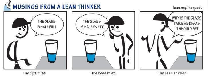 Lean manufacturing definition - how a lean thinker thinks