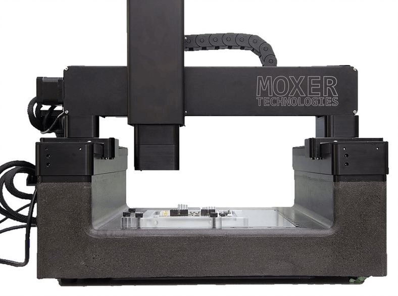 Machine tool bed and frame made of epoxy granite