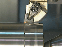 CNC turning – temperature at cutting area